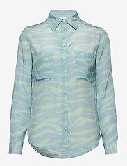 2NDDAY - 2ND Gwen Zebra - pitkähihaiset paidat - brook green - 0