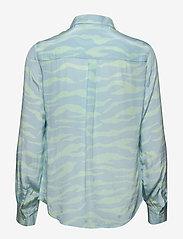 2NDDAY - 2ND Gwen Zebra - pitkähihaiset paidat - brook green - 1