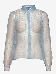 2NDDAY - 2ND Halo - blouses med lange mouwen - cerulean blue - 0