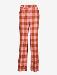2NDDAY - 2ND Brooke Grunge - suorat housut - flamingo pink - 0