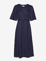 2NDDAY - 2ND Carly - midi kjoler - blue night - 0