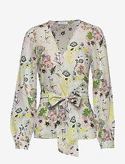 2NDDAY - 2ND Harlow Blissfull - blouses med lange mouwen - sagebrush - 0