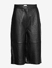 2NDDAY - 2ND Muda - pantalons en cuir - black - 1