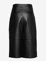 2NDDAY - 2ND Muda - pantalons en cuir - black - 2