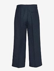 2NDDAY - 2ND Tessa - wide leg trousers - navy blazer - 1
