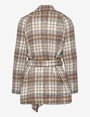 2NDDAY - 2ND Lana Check - wool jackets - faded denim - 1