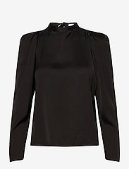 2NDDAY - 2ND Bastian - long sleeved blouses - black - 1
