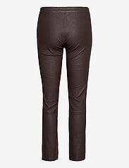 2NDDAY - 2ND Leya - leather trousers - chocolate plum - 2