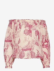 2NDDAY - 2ND Mars Domingo - long sleeved blouses - domingo pink - 0