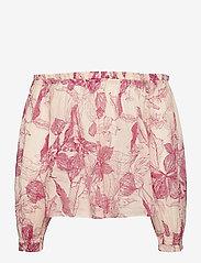 2NDDAY - 2ND Mars Domingo - long sleeved blouses - domingo pink - 1