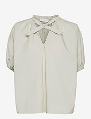 2NDDAY - 2ND Ray Thinktwice - short-sleeved blouses - silver birch - 0