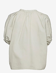 2NDDAY - 2ND Ray Thinktwice - short-sleeved blouses - silver birch - 1