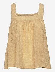 2NDDAY - 2ND Paulo - sleeveless blouses - soybean - 0