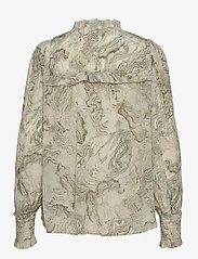 2NDDAY - 2ND Edition Gayle Oyster - long sleeved blouses - oyster field - 1