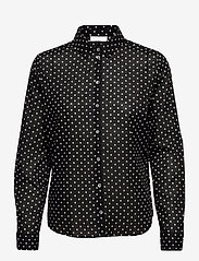 2NDDAY - 2ND Stace ThinkTwice - long sleeved blouses - black - 1