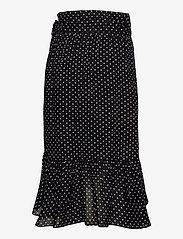 2NDDAY - 2ND Mora Dot ThinkTwice - midi skirts - black - 2