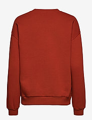 2NDDAY - 2ND Sweat Thinktwice - sweatshirts & hættetrøjer - red ochre - 2