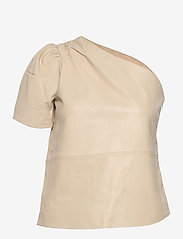 2NDDAY - 2ND Erika - short-sleeved blouses - fog - 1
