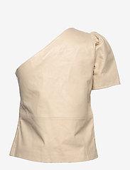 2NDDAY - 2ND Erika - short-sleeved blouses - fog - 2