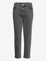 2NDDAY - 2ND Farah ThinkTwice - mom jeans - un black denim - 1