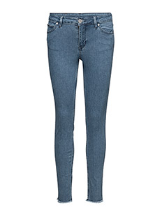 2ND Sally Cropped - RINSE DENIM