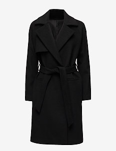2ND Livia - wool coats - black