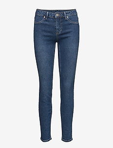 2ND Jolie Wauw Cropped - skinny jeans - intense blue