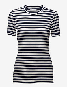 2ND Stripe - t-shirts - grisaille