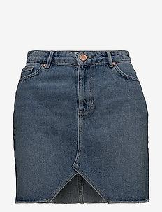2ND Raffe - jupes en jeans - indigo stone wash