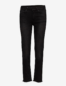 2ND Nikki Fringe - slim jeans - black denim