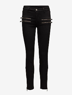 2ND Jolie Flash Black - jeans skinny - black denim