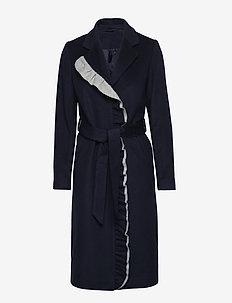 2ND Addy - manteaux en laine - navy blazer