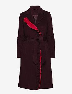 2ND Addy - manteaux en laine - winetasting