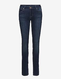 2ND Sally Slit - dżinsy skinny fit - mid blue