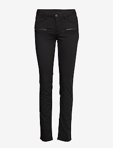 2ND Sally Perfect Zipped - skinny jeans - black denim