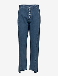 2ND Marill - straight jeans - indigo heavy enzyme