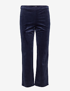 2ND July Velvet - pantalons larges - navy blazer