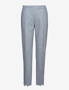 2ND Edera - pantalons slim - medium grey mel.
