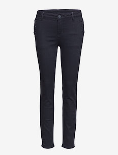 2ND Sally Cropped  Sailor - UN BLACK DENIM