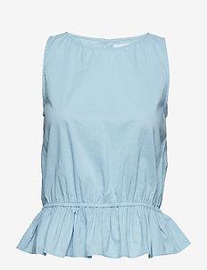 2ND Pisces - sleeveless blouses - aquamarine