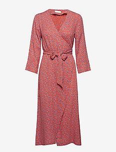 2ND Francine Camo - robes portefeuille - mandarin red