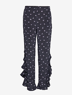 2ND Ursula Anemone - wide leg trousers - black