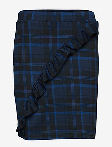 2ND Cast Maxi-Check - short skirts - crown blue
