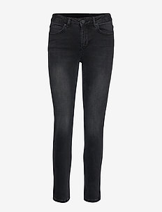 2ND Sally Cropped Racer - UN BLACK DENIM