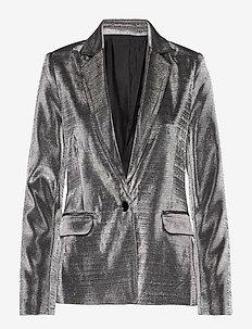 2ND Farrow - blazers - silver