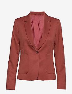 2ND July - blazers - red ochre