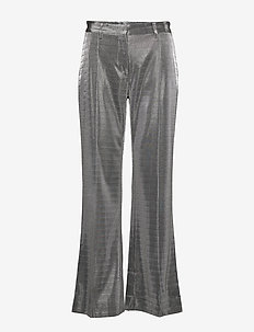 2ND Farrow - wide leg trousers - silver