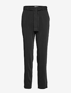 2ND Megan - broeken med straight ben - black
