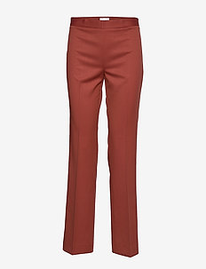 2ND July - pantalons droits - red ochre