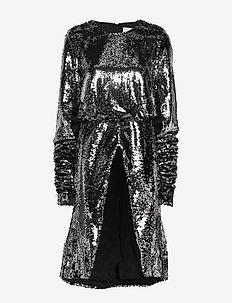 2ND Edition Goldie - paljettklänningar - silver